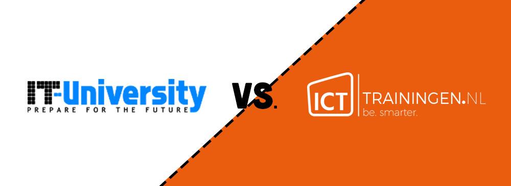 Icttrainingen.nl vs IT-University